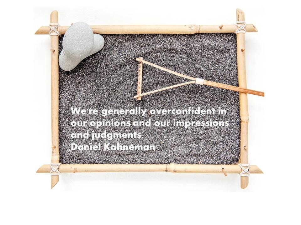 PREDICTABLY OVERCONFIDENT…
